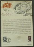 COLLECTION HISTORIQUE DU TIMBRE - YT N°2098 - FREDERIC MISTRAL - 1980 - 1980-1989