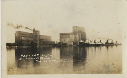 Rea Photo Fort Colborne Maple Leaf Mill Moulin Minoterie 1923 - Zonder Classificatie