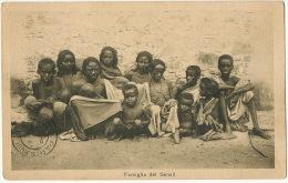 Famiglia Del Senait Groupe Enfants Et Adultes Nus Edit Scozzi Attilo Asmara - Erythrée
