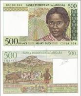 Madagascar - 500 Ariary 1998 UNC Ukr-OP - Madagaskar