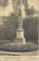 Fayt-Lez-Manage.   Maison De Retraites Pour Hommes;   Statue De N.D. Du Travail  -   1929  Naar Soignies - Manage