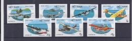 VIETNAM  Avions - Airplanes 834/840 Non Dentelé - Imperforated - Ongetand - Trains