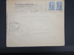 GRECE - LETTRE D ATHENES POUR PARIS EN 1916 AVEC CENSURE  MILITAIRE   POUR ETUDE  LOT P2502 - Grecia
