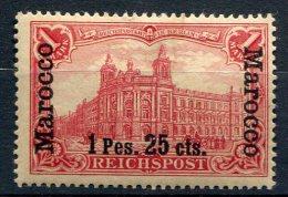 Bureau Allemand Au Maroc         16 * - Deutsche Post In Marokko