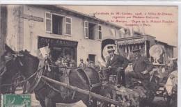 Cavalcade De Mi Carem 1908 à Villey Saint Etienne - France