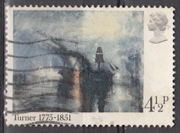 Gran Bretagna, 1975 - 4 1/2p Peace-Burial At Sea - Nr.736 Usato° - 1952-.... (Elisabetta II)