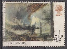 Gran Bretagna, 1975 - 5 1/2p Snowstorm-Steamer Off A Harbour's Mouth - Nr.737 Usato° - 1952-.... (Elisabetta II)