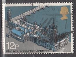 Gran Bretagna, 1975 - 12p Parliament - Nr.753 Usato° - Non Classificati