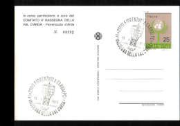 11-9-1971 ANNULLO SPECIALE IV RASSEGNA DELLA VAL D'ARDA 29017 FIORENZUOLA PIACENZA CARTOLINA N°2 - Expositions Philatéliques