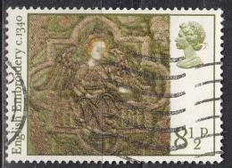 Gran Bretagna, 1976 - 8 1/2p Angel With Crown - Nr.799 Usato° - 1952-.... (Elisabetta II)