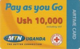 *UGANDA* -  Scheda Usata - Uganda