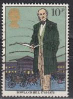 Gran Bretagna, 1979 - 10p Rowland Hill - Nr.871 Usato° - 1952-.... (Elisabetta II)