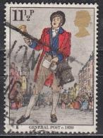 Gran Bretagna, 1979 - 11 1/2p Bellman - Nr.872 Usato° - 1952-.... (Elisabetta II)