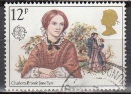 Gran Bretagna, 1980 - 12p Charlotte Bronte - Nr.915 Usato° - 1952-.... (Elisabetta II)