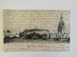 Cp/pk Basse Wavre Eglise Séminaire Charlier Niset 1904 - Wavre