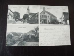 1 X Alte AK Bütten 1909   Bitte Ansehen Sammlungsauflösung - Elsass
