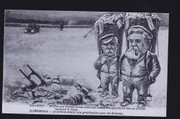 FALLIERES CLEMENCEAU - Politieke En Militaire Mannen