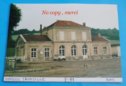 1 Photo - Gare De NANÇOIS TRONVILLE - Treinen