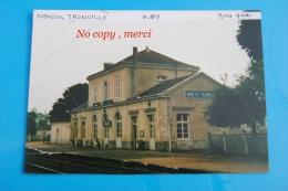 1 Photo - Gare De NANÇOIS TRONVILLE Quais - Treinen