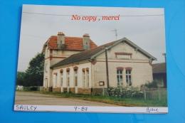 1 Photo - Gare De SAULCY - Treinen