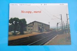 1 Photo - Gare De NANÇOIS TRONVILLE HALL - Treinen