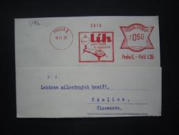 BRIEF Frankotype Freistempel Postfreistempel 1933 PRAHA 1 Lih Spiritus // Tm2022 - Briefe U. Dokumente