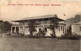 CARNEGIE LIBRARY VIEW FROM GORDON SQUARE SEYCHELLES - Seychellen