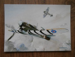 41983 PC: TRANSPORT: AVIATION: WINGS FOR VICTORY By A. F. D. Bannister. Hawker Typhoon Mk. Ib. - 1939-1945: 2ème Guerre