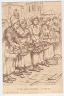 Types Saintongeais - Illustrateur Touzémis - Au Marché - Non Classés