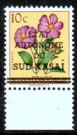 Sud Kasai - 1 Avec BDF - 1 Point Manquant - 1961 - MNH - Süd-Kasai
