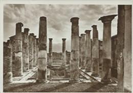 POMPEI - CASA DI ARIANNA - VIAGGIATA - FRANCOBOLLO  ASPORTATO - - Pompei