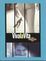MARTINI - 11/2002 - Viva La Vita - ADVERTISING - Postcard From PORTUGAL- 2 Scans - Alcools