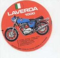 MOTO ITALIENNE LAVERDA 1000 - Autocollants