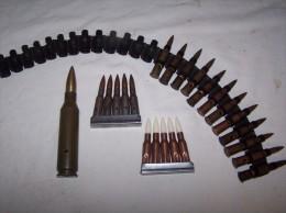 Lot Munitions  URSS - Armes Neutralisées