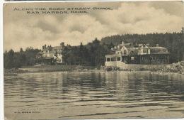 Bar Harbor  Along The Eden Street Shore  P. Used 1911  Editor Sherman - Etats-Unis