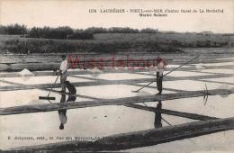 17 - LAUZIERES NIEUL SUR MER - Marais Salants  - Dos Vierge  - 2 Scans - Autres Communes