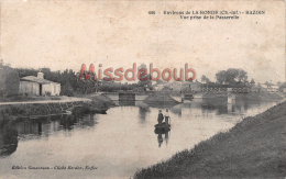 17 - Environs De La Ronde -  BAZOIN - Vue Prise De La Passerelle  - 2  Scans - Autres Communes