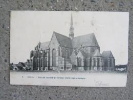 Cp/pk Gheel Geel église Sainte-dymphne Coté Absides Bertels - Geel