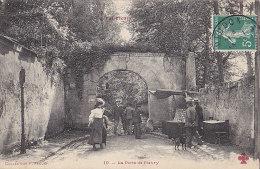 Meudon Val Fleury 92 - Porte De Fleury - Marchand Ambulant De Cartes Postales - Editeur Fleury N° 10 - RARE - Meudon