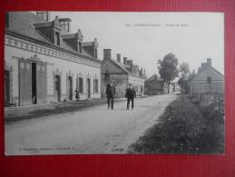 """CPA  45 LOIRET  LORRIS -  """"Route De Sully""""  190?  Ed: F Boudeau - Autres Communes"""