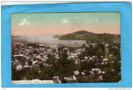 ST LUCIA-castries Northern View - Beau Plan De La Baie -sainte Lucie- Caraïbes-années 1900-10 - Monde