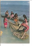 TAHITI   Tahitiennes A La Peche - Tahiti