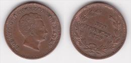 ALLEMAGNE BADEN : 1 KREUZER 1829 Bronze (voir Scan) - [ 1] …-1871: Altdeutschland