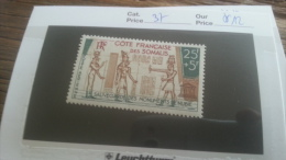 LOT 248414 TIMBRE DE COLONIE  SOMALISE NEUF** N�37 VALEUR 12 EUROS  LUXE