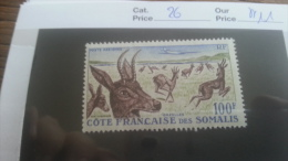 LOT 248425 TIMBRE DE COLONIE  SOMALISE NEUF** N�26 VALEUR 11 EUROS  LUXE