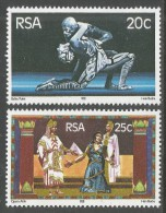 South Africa. 1981 Opening Of State Theatre, Pretoria. MNH Complete Set SG 490-491 - South Africa (1961-...)
