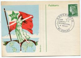 FRANCE THEME ESPERANTO CARTE ESPERANTO OBLITERATION 44ème CONGRES INTERNATIONAL ORSAY 6 VIII 1971 - Esperanto