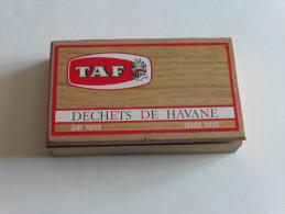 Boïte à Cigares    :Déchets De Havane   TAF - Contenitori Di Tabacco (vuoti)