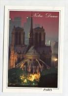 FRANCE - AK 223597 Paris - Notre-Dame, Au Fond La Défense - Notre Dame De Paris