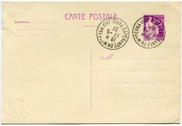 FRANCE THEME ESPERANTO ENTIER AVEC OBLITERATION ESPERANTO EN MODERNA VIVO 17-5-37 PARIS - Esperanto